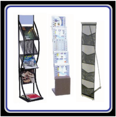 Brochure stand,ชั้นวางโบว์ชัว,Catalog stand,ชั้นใส่โบว์ชัว,ชั้นใส่แค็ทตาล๊อค